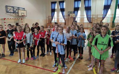 Powiatowe Igrzyska Dzieci wUnihokeju Dziewcząt