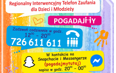 Regionalny Interwencyjny Telefon Zaufania dla Dzieci iMłodzieży