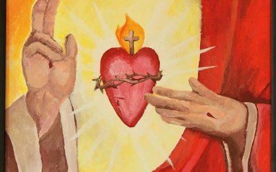 Pan Jezus obdarza nas swoim  Miłosierdziem.