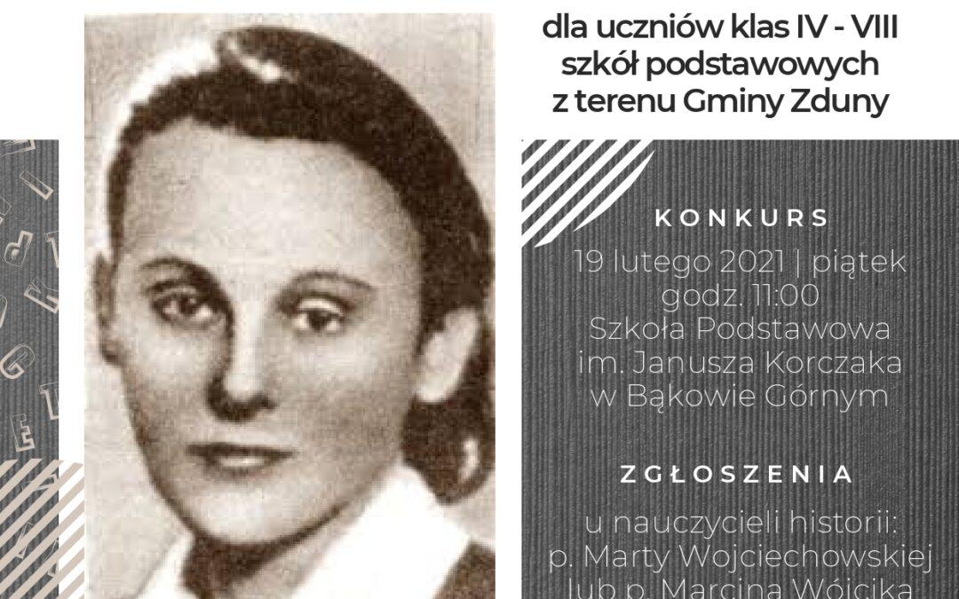 Konkurs historyczny oKrysi Idzikowskiej