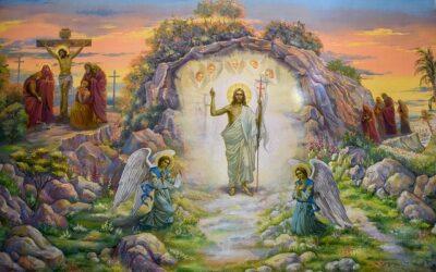 Cieszymy się, żeJezus zmartwychwstał.